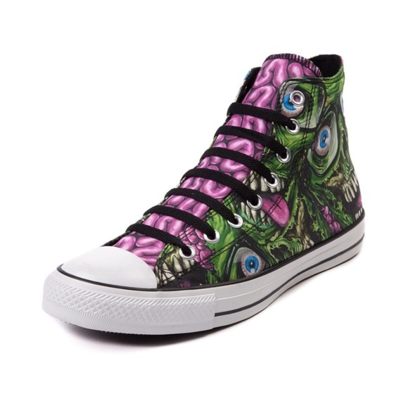 converse all star zombie shoes